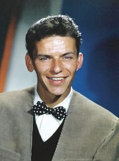 """Frank Sinatra, singer. actor, dancer, so multi-talented. Won an Oscar for supporting actor in """"From Here To Eternity"""""""