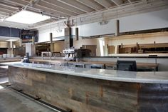 Cafe Restaurant, Restaurant Design, Espresso Bar, Bar Designs, Layout Design, Layouts, Construction, Kitchen, Home Decor