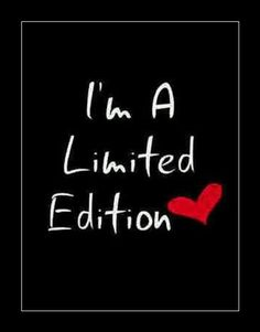 I'm a Limited Edition❤ Be inspirational ❥|Mz. Manerz: Being well dressed is a beautiful form of confidence, happiness & politeness