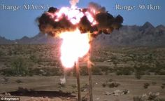 Video: Epic Super Slow Motion Excalibur Artillery Round Percision Strikes