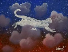 """ CAT & FRIEND "" Original painting My art portal: www.raphaelvavasseur.com Fine art print is available in Etsy #Cat #Painting #Art #RaphaëlVavasseur #Original #New #Animal #Drawing #Illustration #Catart #Pet #Artwork #Artist #Katze #Gato #Gatto #Kot #猫 #قط #kedi #Picture #Peinture #고양이 #ArtistePeintre #Canvas #AcrylicPainting #Chat #FelineArt #Kat #GraphicDesign"