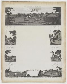 The chase of the fox [graphic]. Published/Created: [London] : Published 2 November 1801, by Laurie & Whittle, 53 Fleet Street, London, [2 November 1801] Physical Description: 1 print : etching ; plate mark 43.1 x 35.4 cm., on sheet 49 x 39 cm.