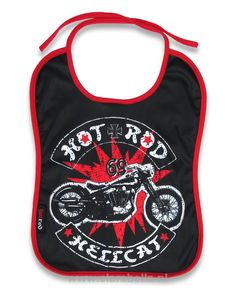 #HRHC #bobber #Hotrod #Hellcat #Bib #dig #it  15% discount on EVERYTHING in our store. Sign up here to receive your personal discount code:http://eepurl.com/boSy7H