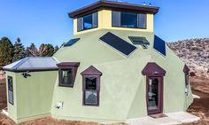 Haven, la casa geodésica prefabricada para quienes buscan una vivienda autosufiente.