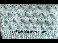 Visit the website for more information click the link. serifeninorguduny … F … - Everything About Knitting Baby Knitting Patterns, Knitting Stiches, Knitting Videos, Crochet Patterns For Beginners, Easy Crochet Patterns, Lace Knitting, Knitting Designs, Stitch Patterns, Yarn Shop