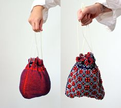 just listed! (reversible) Beaded 1960s Purse