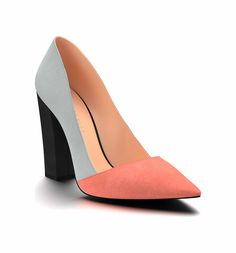 Main Image - Shoes of Prey Block Heel Pump (Women) Source by curvyroadrunner women shoes Source by ShirleyShoesFashion de mujer azules Color Block Shoes, Block Heel Shoes, Grey Pumps, Suede Pumps, Burgundy Pumps, Hipster Shoes, Shoe Boots, Shoes Heels, Wide Shoes