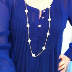 stitch fix, love the color! Love the shirt, but I have necklaces similar