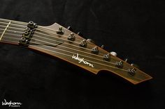 "Waghorn Corax 7 string / Neck-Through, 26.5"" scale, Original Floyd Rose, SD Invader, Macassar Ebony top"