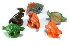 Kinderstempel - Dino für Dinosaurier-Stempelspiele €0,39
