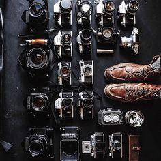 """#Repost @1924us ・・・ When people ask me what I shoot with I generally point to a shelf full of film cameras, but the past few weeks I've been on the road I haven't had any of my gear. It's kind of freeing in a sense, and sad in another. All these tools, slung over shoulder or not, make my work possible. I had a lot of people tell me """"no"""" this year. That chasing my goals would result in loss. And through literal blood sweat and tears - ive come out on top. Nearing the end of the year I've…"""