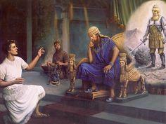 Daniel gives the interpretation for the king's dream