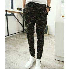 $19.89 / #Mens #Pants Camouflage Harem Sweatpants Pencil #Track Pants - FREE SHIPPING
