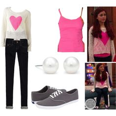 cat valentine outfits victorious - cat valentine outfits _ cat valentine outfits victorious _ cat valentine outfits for school _ cat valentine outfits winter _ cat valentine outfits sam and cat Katy Perry Outfits, Ariana Grande Outfits, Victorious Cat, Cat Valentine Victorious, Victorious Nickelodeon, Girly Outfits, Casual Outfits, Cute Outfits, Teen Fashion