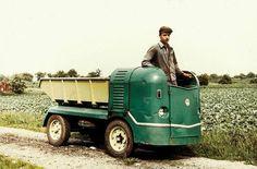Auch 1959 war ein Multicar schon ein kompakter Transporter.