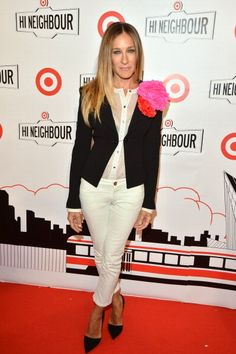 Sarah Jessica Parker brings back Carrie Bradshaw at Target's Toronto opening