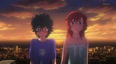 Ano Natsu de Matteru To Leave Something Behind, Manga Anime, Best Anime Couples, Otaku, Hidden Identity, Fanart, Manga Games, Awesome Anime, Couple Pictures