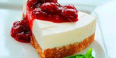 """Os traigo una """"versión light"""" de una receta de tarta de yogur griego que personalmente me encanta. Espero que os guste!"""