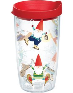 Christmas Gnomes Wrap with Lid | 16oz Tumbler | Tervis®