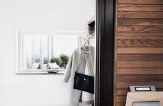 Hammarby sjöstad hatthylla fönster hallen