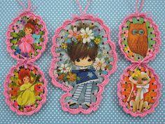 Crochet Book Marks Ornaments