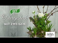 DIY: frühlingshafte Blumendeko schnell & günstig [How to] | Deko Kitchen - YouTube
