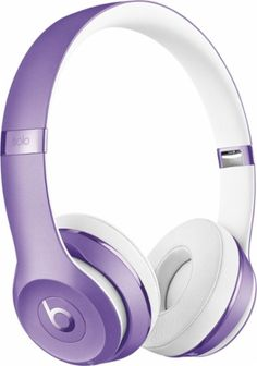 Shop Beats by Dr. Dre Beats Solo³ Wireless Headphones Ultra Violet Collection Ultra Violet Collection at Best Buy. Find low everyday prices and buy online for delivery or in-store pick-up. Wireless Headphones Review, Headphones Online, Computer Headphones, Cute Headphones, Headphones With Microphone, Sports Headphones, Beats By Dre, Portable, Ultra Violet