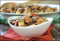 HG's Rockin' New Thanksgiving Recipes!  apple cranberry slaw