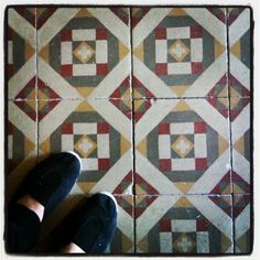 hidraulic tiles of our hall