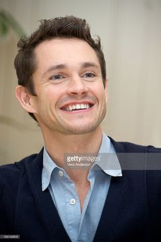 Hugh Dancy attends the 'Confessions of a Shopaholic' press conference at the Four Seasons Hotel on January 25, 2009 in Beverly Hills, California.