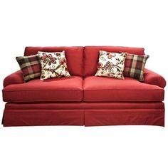 Two Cushion Sofa in Debutante   Nebraska Furniture Mart