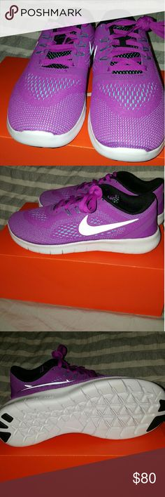 Sneakers FINAL PRICE 👩👩👩👩 New Nike youth voilet 5y girls sneakers. Nike Shoes Sneakers