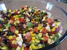 Corn and Black Bean Salad #Food #Drink #Trusper #Tip