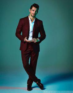 David Gandy es elegancia absoluta en el número de agosto de Prestige Magazine