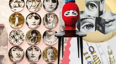 Die Fornasetti Corner bei APROPOS The Concept Store in Köln Decorative Plates, Gallery Wall, Corner, Concept, Dreams, Lifestyle, Holiday, Gift Cards, Shopping