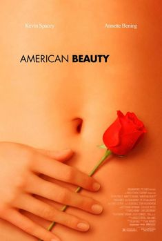 Original poster for the film American Beauty
