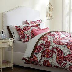 Retro Paisley Duvet Cover & Pillowcases on pbteen.com (2012 PBDorm)