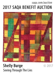 Art quilt by Shelly Burge