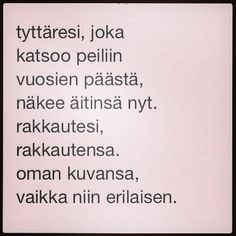 Nimiviikon 3. runo: Riina & tytär 24.9.2014