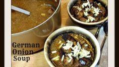 German Onion Soup - #SundaySupper - One Pot Recipes