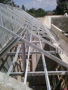 Butuh jasa pemasangan Rangka Atap Baja Ringan murah berkualitas Hubungi  CV.DEDY JAYA TRUUS adalah aplikator rangka atap baja ringan yang sudah  berpengalaman ... bca42f0f73
