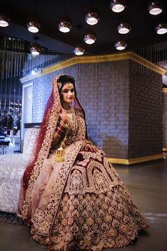 Kinas Designer Represent this Beautiful Designer Bridal Lehenga Choli in 2019 Latest Bridal Lehenga, Indian Wedding Lehenga, Wedding Lehenga Designs, Designer Bridal Lehenga, Bridal Lehenga Choli, Wedding Sari, Wedding Bride, Indian Bridal Outfits, Indian Bridal Fashion