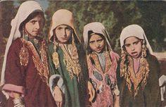 Vintage postcard of Kashmiri kids..