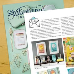 We are so excited to have our Sun and Moon letterpress prints in the spring issue of @stationerytrend magazine #stationerytrendsmag #letterpress #nurserywallart #wallart #walldecor #artforkids #moon #sun #sunshine #goodnightmoon #hellosunshine #jillyjackdesigns