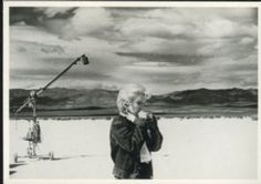 Fotofolio Postcard, Marilyn Monroe, The Misfits, Nevada 1960, Photograph by Eve Arnold