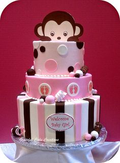 baby shower cakes - Graceful Cake Creations