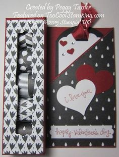 Back to black nugget card 1 - peggy copy - uses an 8.5 x 11 sheet of card stock