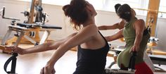 """Open up with sessions on """"the rack"""" -- what celebs like Madonna, Gwyneth Paltrow and Jennifer Aniston are doing to tone and strengthen their bodies."""