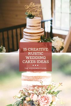 Creative Rustic Wedding Cakes Ideas #weddingcake Pretty Wedding Cakes, Wedding Cake Rustic, Amazing Wedding Cakes, Home Wedding, Dream Wedding, Wedding Ideas, Diana Wedding, Vows, Bridal Shower
