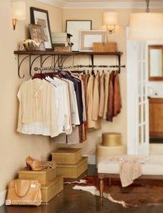 PB closet.
